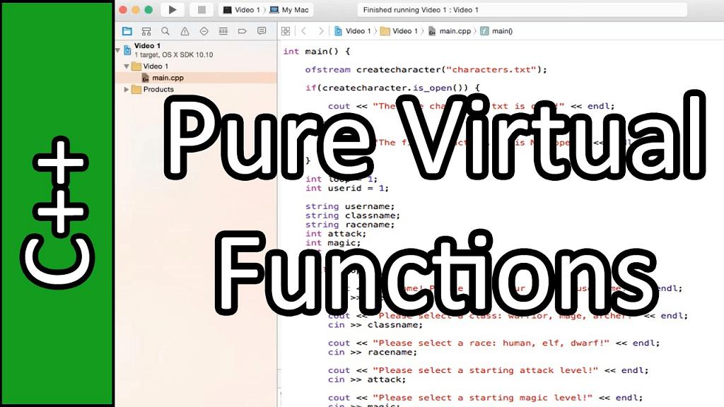 Từ khóa Virtual trong C++