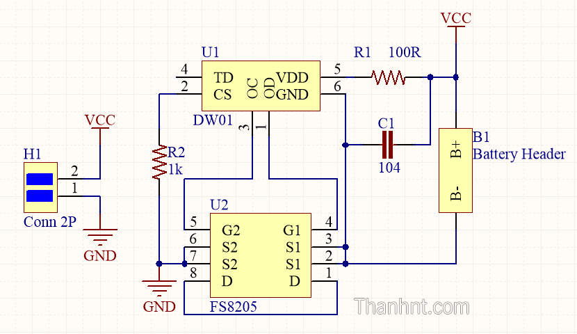 DW01_FS8205_Battery_Protection_Circuit_SCH