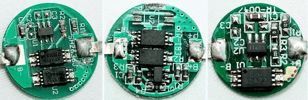 Các mạch bảo vệ pin có thiết kế tương tự nhau