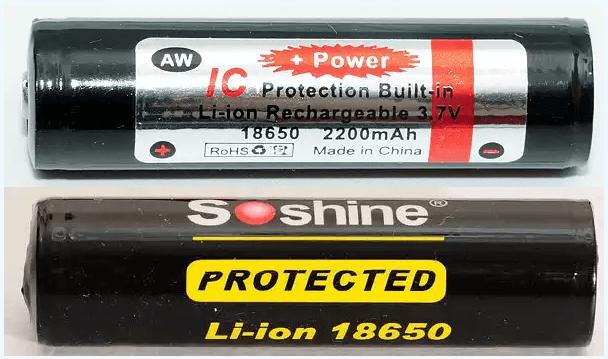2 loại pin chuẩn bị lên bàn mổ
