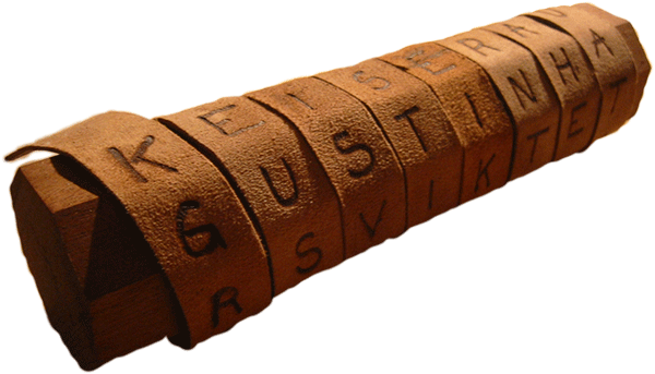 Scytale - Gậy mật mã
