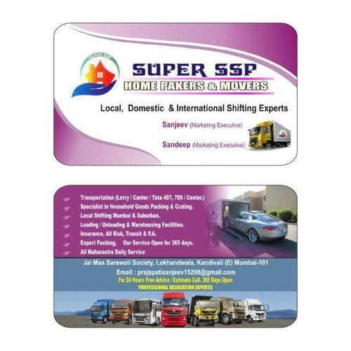 super ssp home Packers and movers
