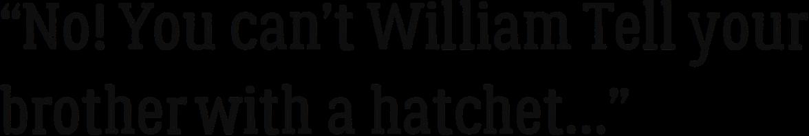 William Tell 1