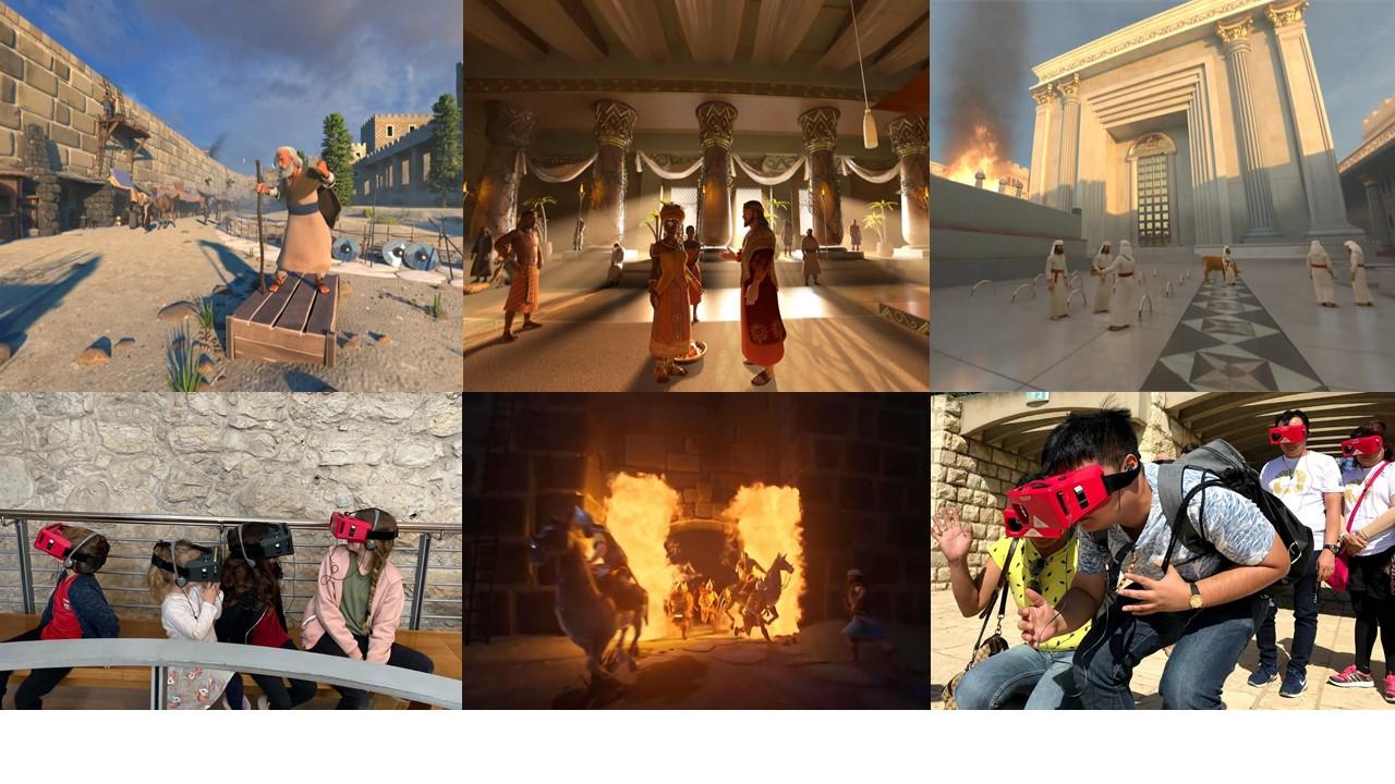 """Amazing 3D sound and vision!"" ""Spectacular Jerusalem walking tour"""