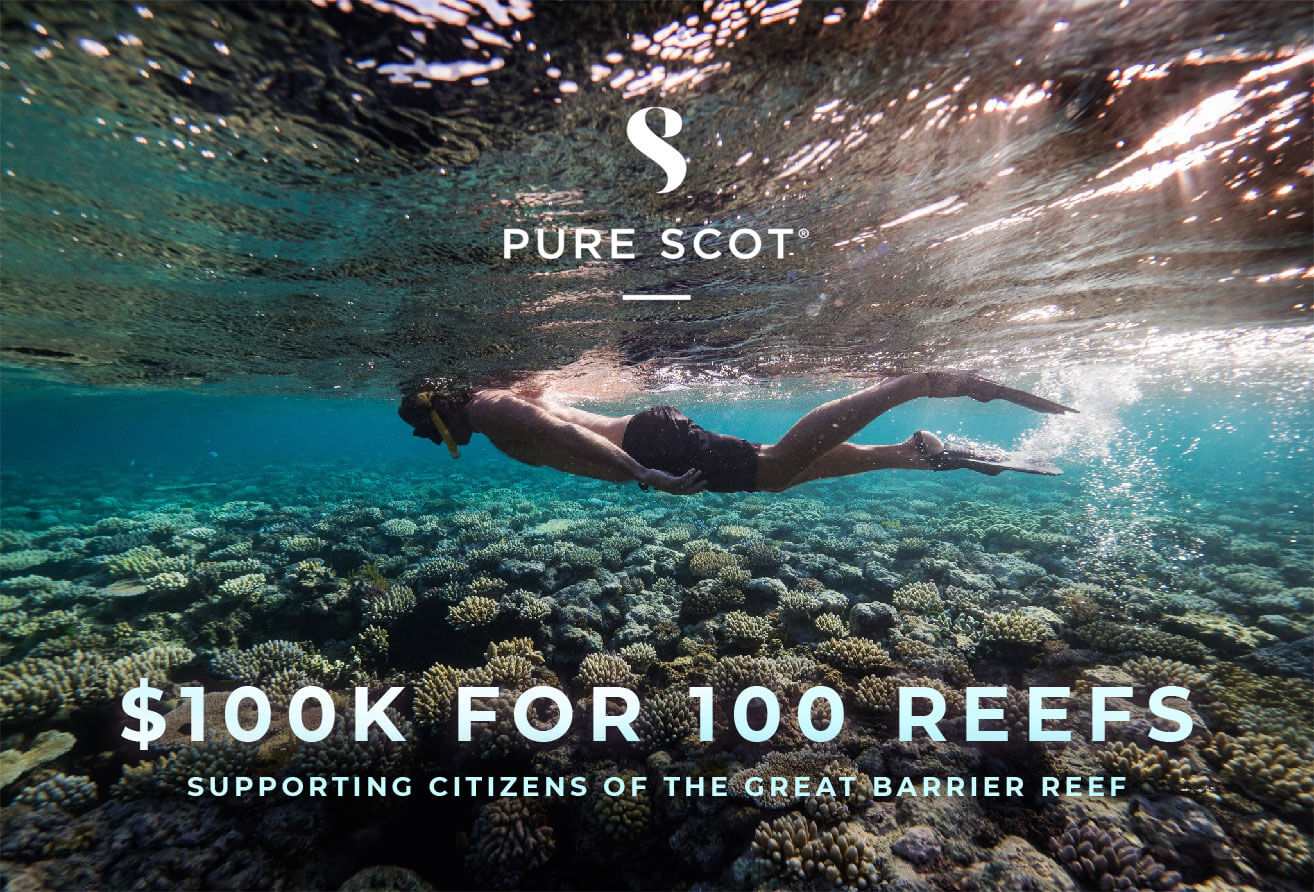 Pure Scot's $100k for 100 Reefs