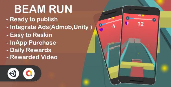 Beam Run 3D