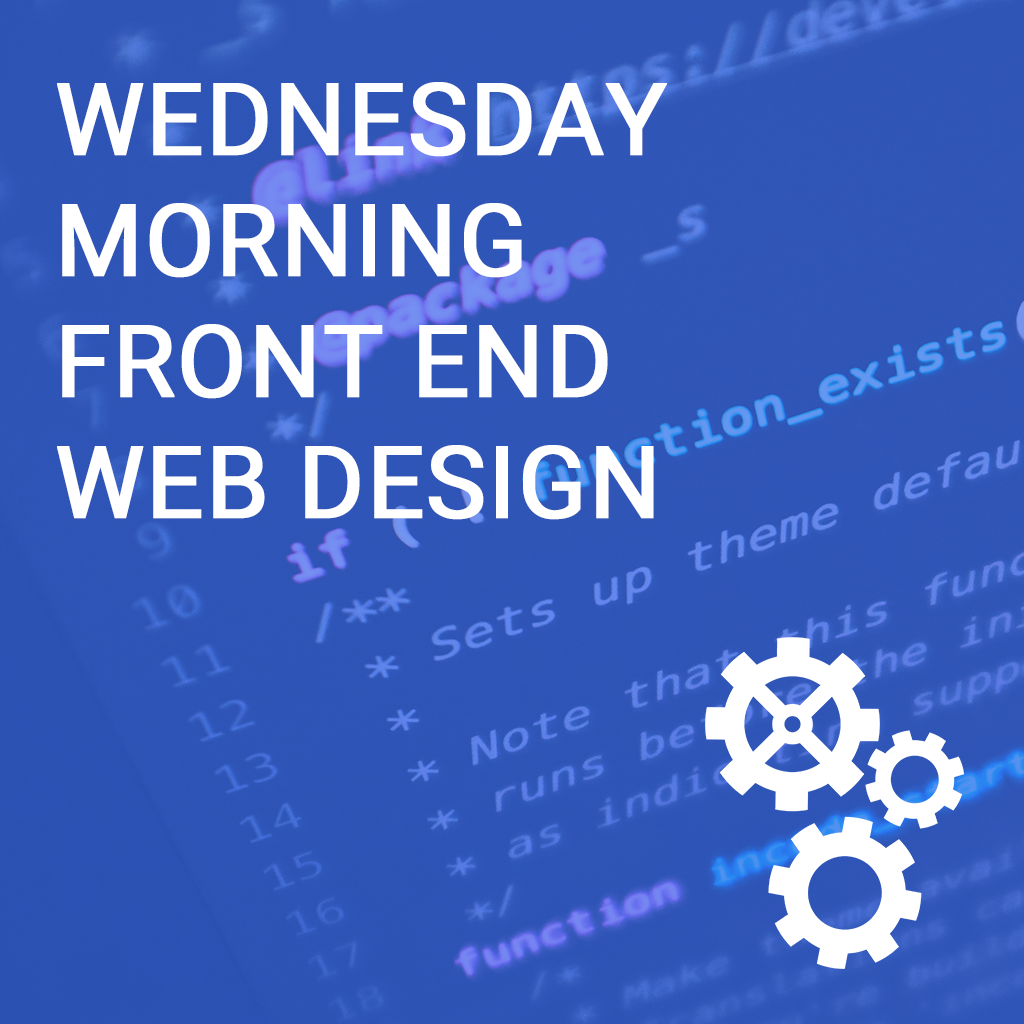 Copy:Tuesday Front End Web Design