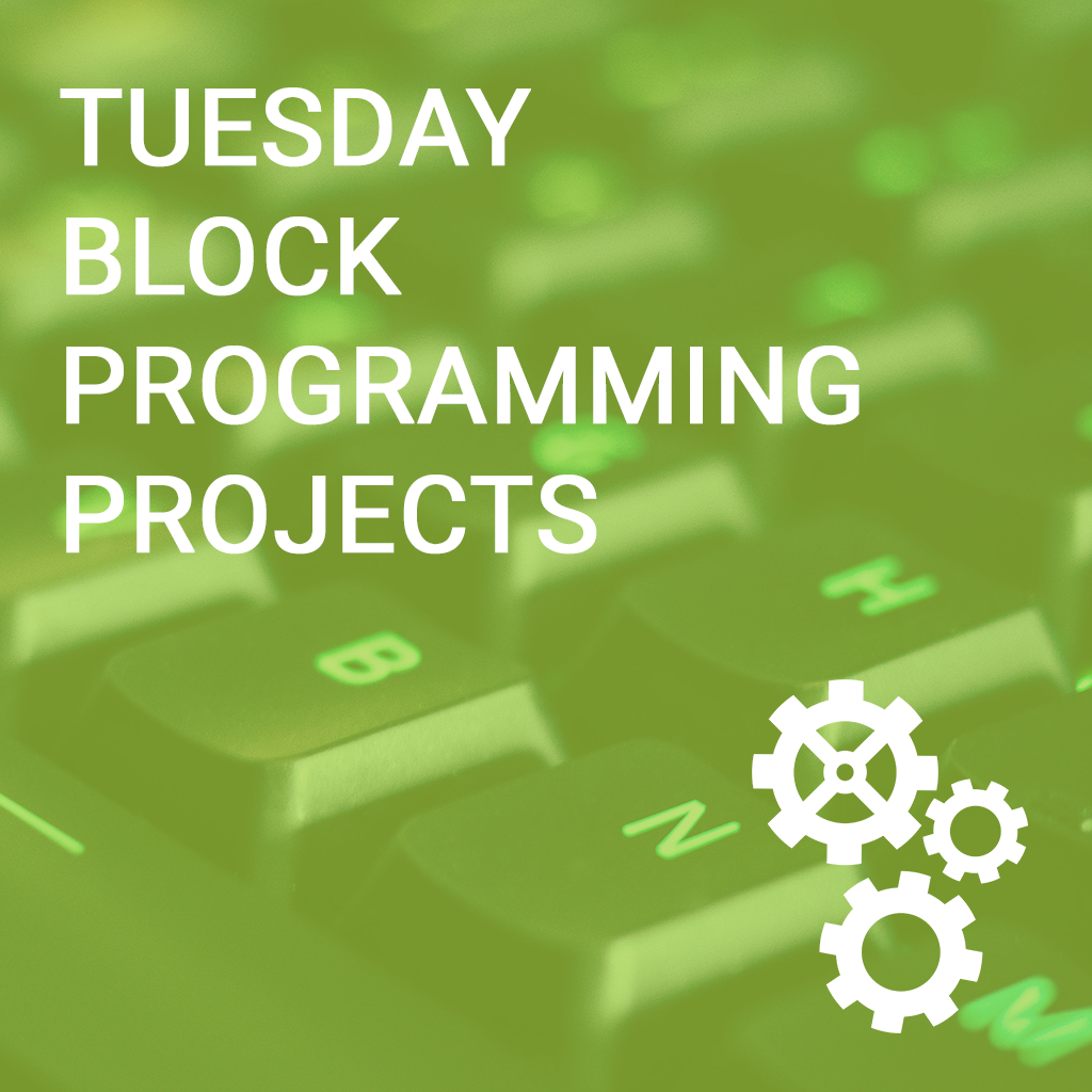 Tuesday Block Programming Computer Science Projects