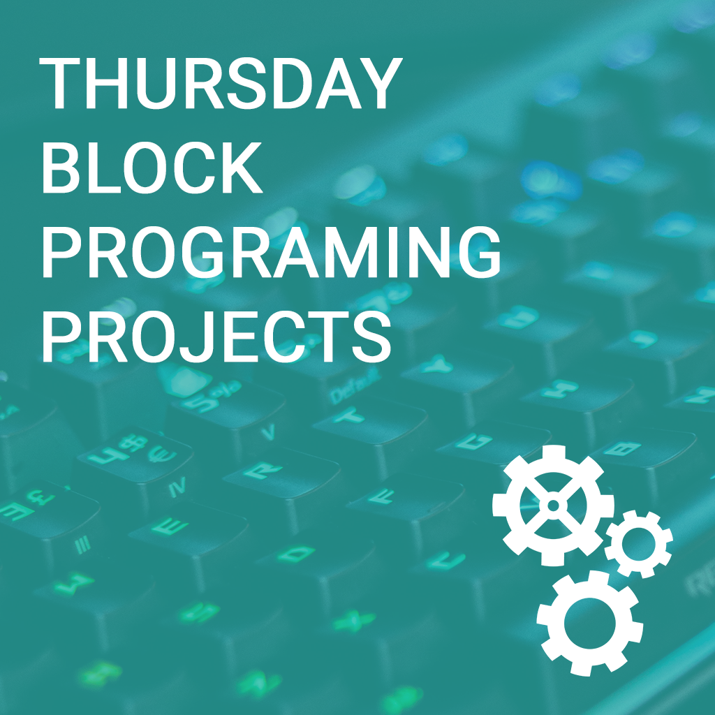 Thursday Block Programming Computer Science Projects