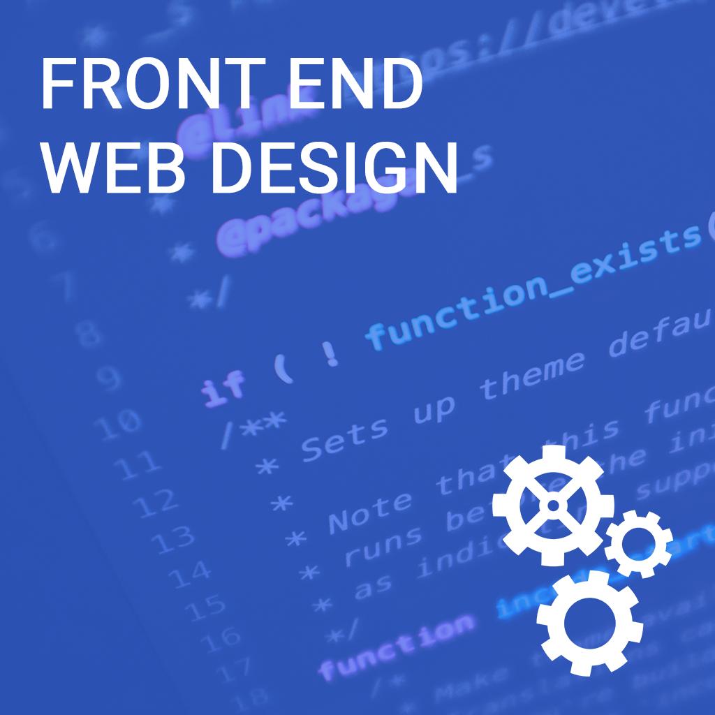 Front End Web Design Online