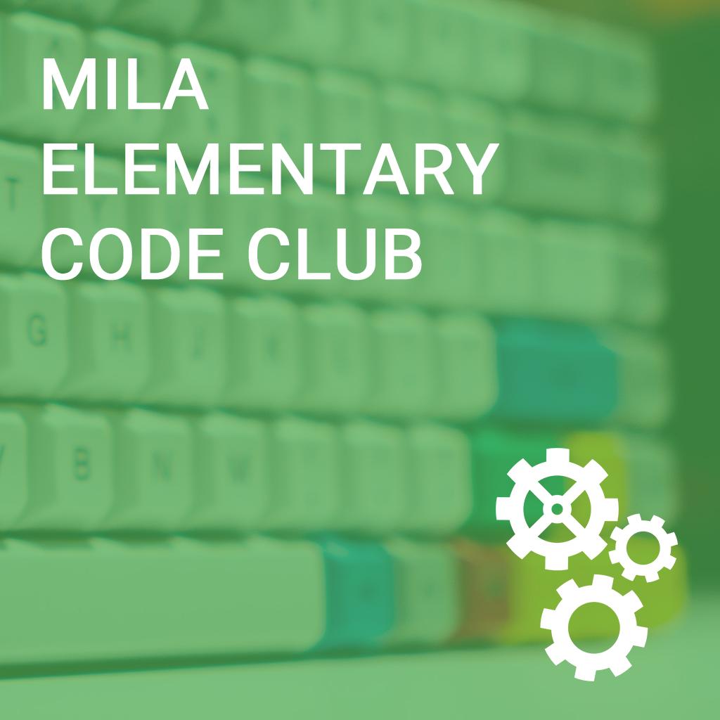 Mila Elementary Code Club