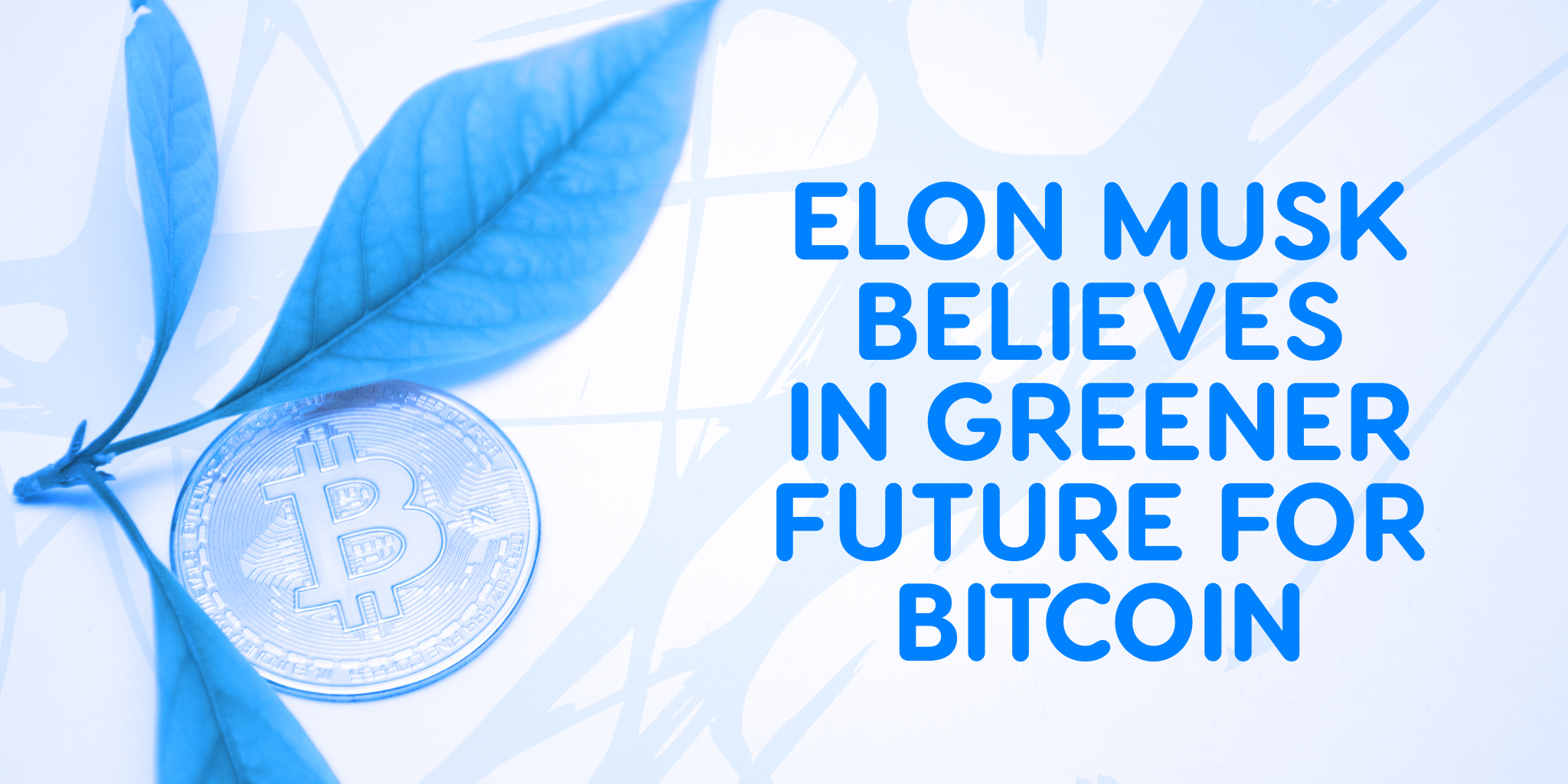 Elon Musk believes in a greener future for Bitcoin