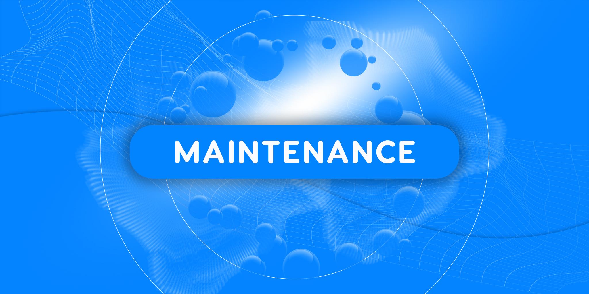 Planned maintenance (29-09-2021)