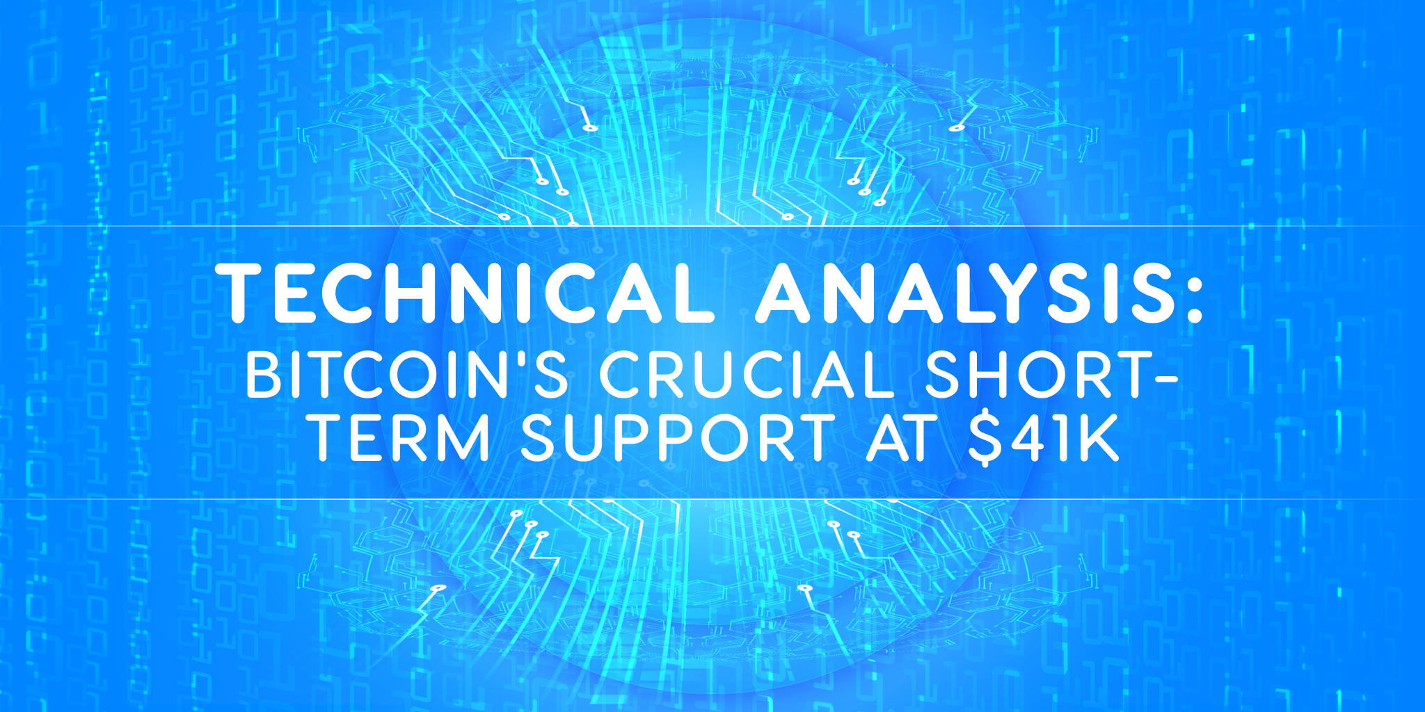 Technical analysis: Bitcoin's crucial short-term support at $41k