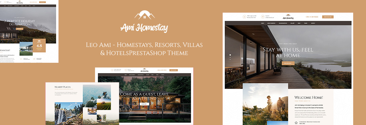 Leo Ami - Homestays, Resorts, Villas & Hotels