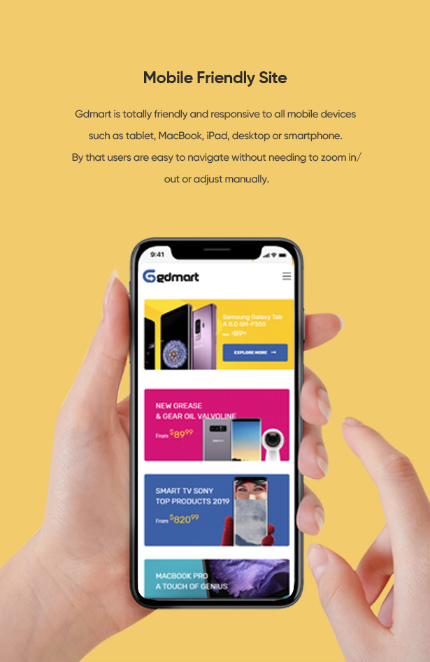 GDMART- AUTHENTIC DIGITAL DEVICES SHOPIFY THEME