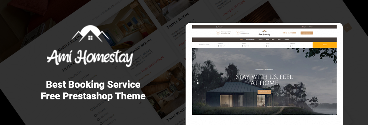 Leo Homestay - Best Booking Service Free Prestashop Theme