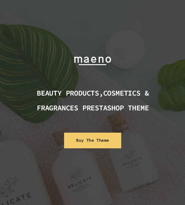 Stunning Clean & Minimal PrestaShop Fashion Theme