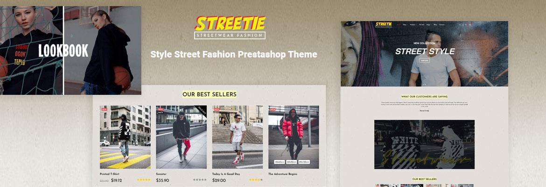 Leo Streetwear Style Street Fashion Prestashop Theme