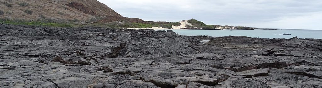 Galapagos volcanic formations