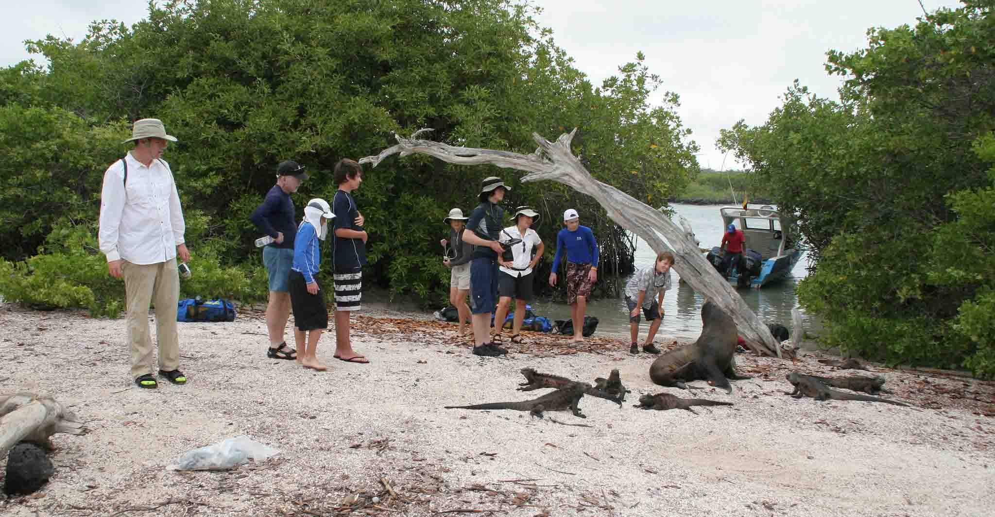 Galapagoss tourists