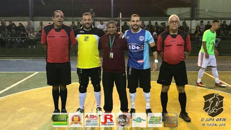 Copa Verde de Futsal 2018 - Mancha Verde x Morro do Sossego