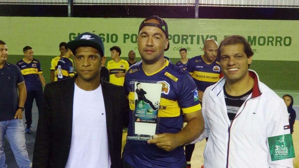 Copa Verde de Futsal 2019 - Melhor Técnico - Leandro Pão (Burger Green)