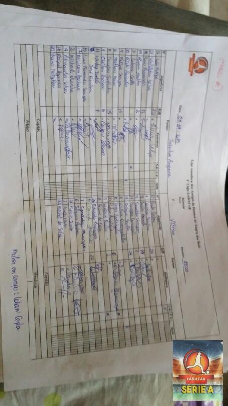 COPA LADAFAR 2018 - sumula