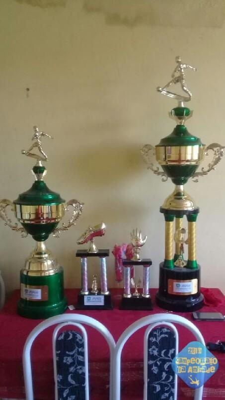 Campeonato Da Amizade  - troféu de campeão,vice,artilheiro é melhor goleiro do Campeonato