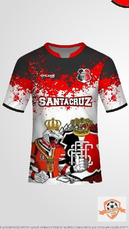 LIGA REGIONAL DE FUTSAL AMADOR - camisa santa cruz