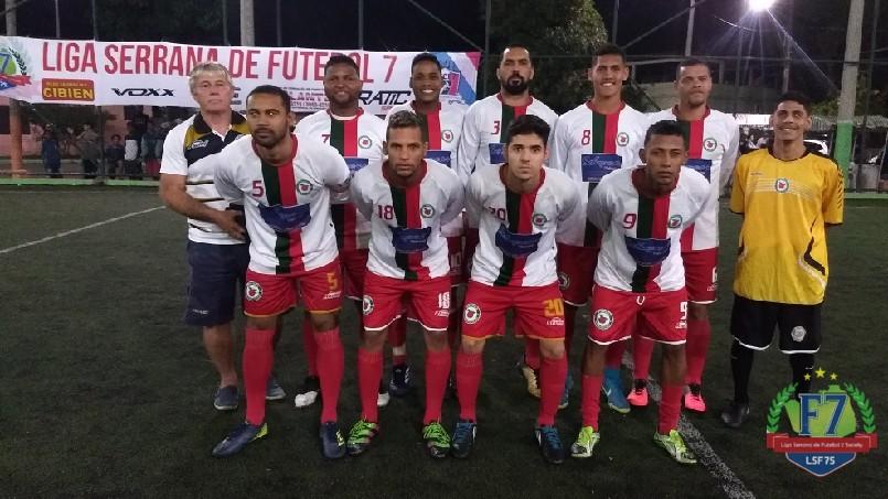 LIGA SERRANA DE FUTEBOL 7  - Pitanga futebol clube