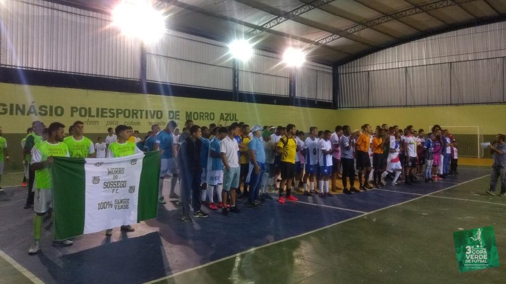 Copa Verde de Futsal 2019 - Apresentação das equipes.