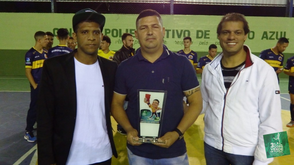 Copa Verde de Futsal 2019 - Troféu Amigo do Árbitro - Douglas Silva (Grama City)