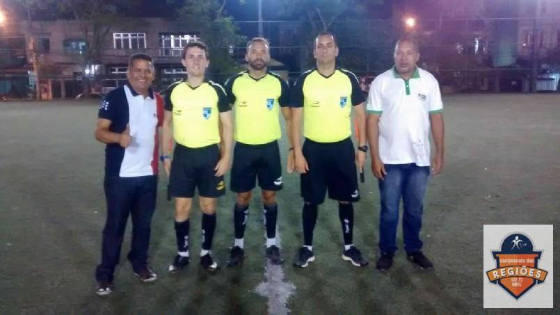 Campeonato Das Regiões Do Bloco Norte - pastor com trio de arbitragem