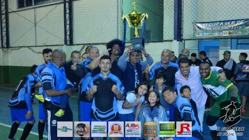 Copa Verde de Futsal 2018 - PSG Frontin (Campeão)