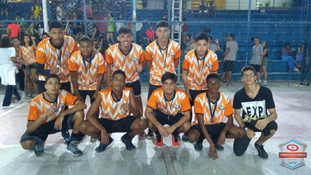 XXII Torneio Maria Emilia 2019 - Vice Campeão Basquete Ensino Médio