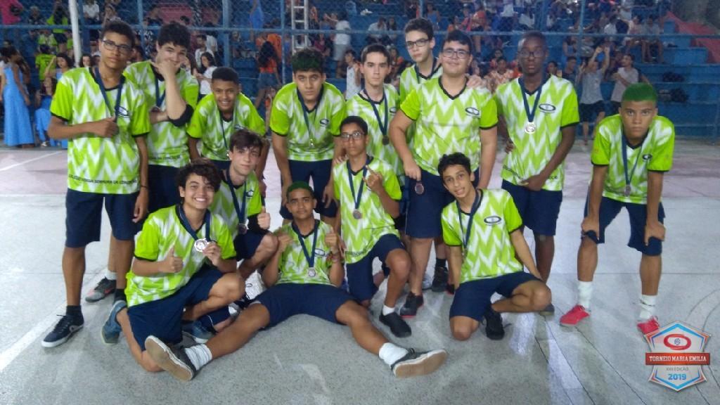 XXII Torneio Maria Emilia 2019 - Vice Campeão Basquete 9 ano