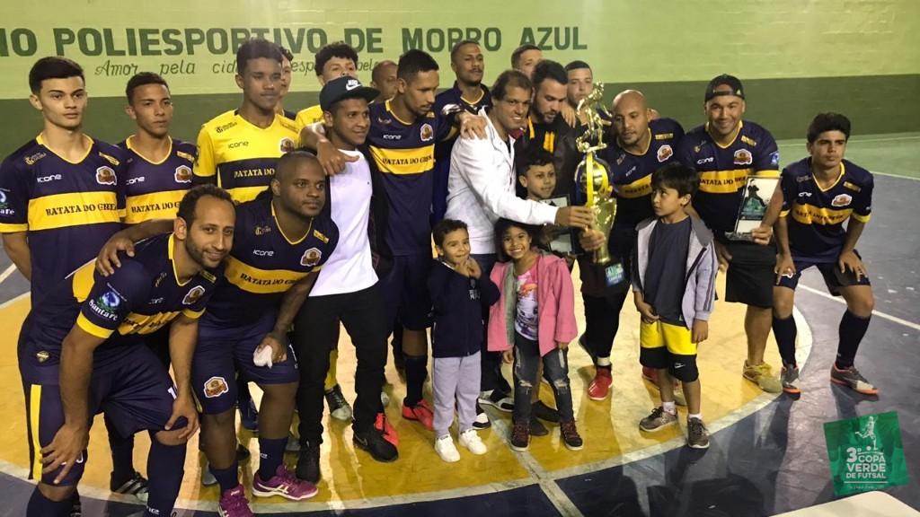 Copa Verde de Futsal 2019 - Melhor Ataque da Competição - 30 gols em 5 jogos - Incrível média de 6 gols por partida.