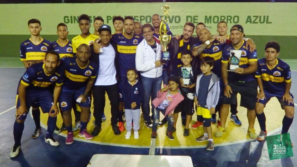 Copa Verde de Futsal 2019 - Festa em Morro Azul!!! Parabéns ao Campeão 2019, Burger Green!