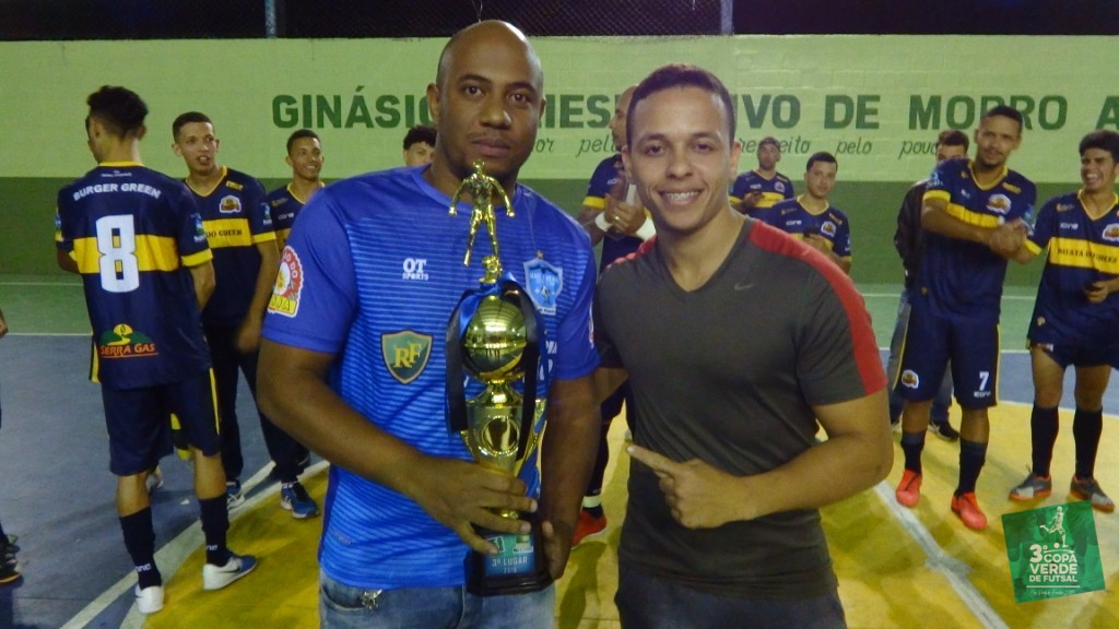 Copa Verde de Futsal 2019 - 3º Lugar - Mais Ou Menos (atleta representante: Thiago Barbosa)