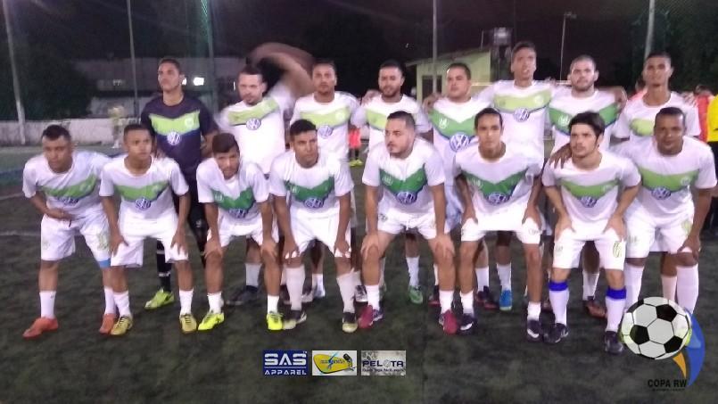 Copa RW De Futebol 7 Society - Panelinha De Guto Em Campo..