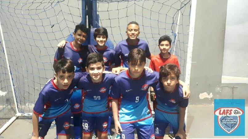 LIGA ALAGOANA DE FUTSAL  - equipe sub 13 do Anchieta