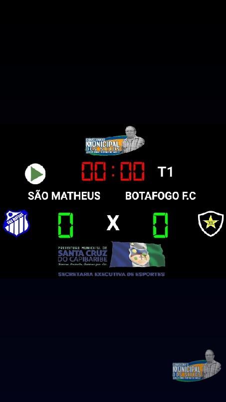 CAMPEONATO MUNICIPAL DE FUTEBOL DOS SÍTIOS AUGUSTINHO RUFINO DE MELO  - Tá chegando o dia ⚽️🏆🇸🇱  Qual será o placar do jogo❓🤔  São Matheus ⏹❎⏹   Botafogo