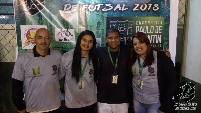 Copa Verde de Futsal 2018 - Comissão organizadora nota 10.