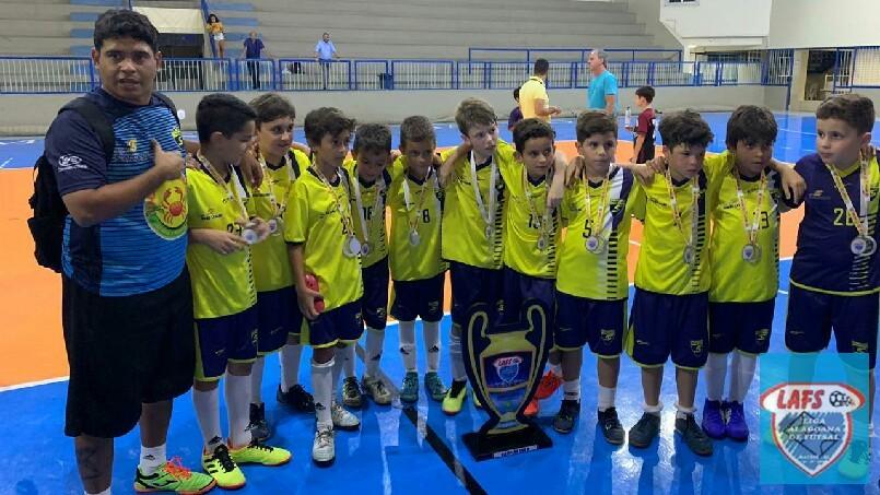 LIGA ALAGOANA DE FUTSAL  - Santa Úrsula campeão  sub 9
