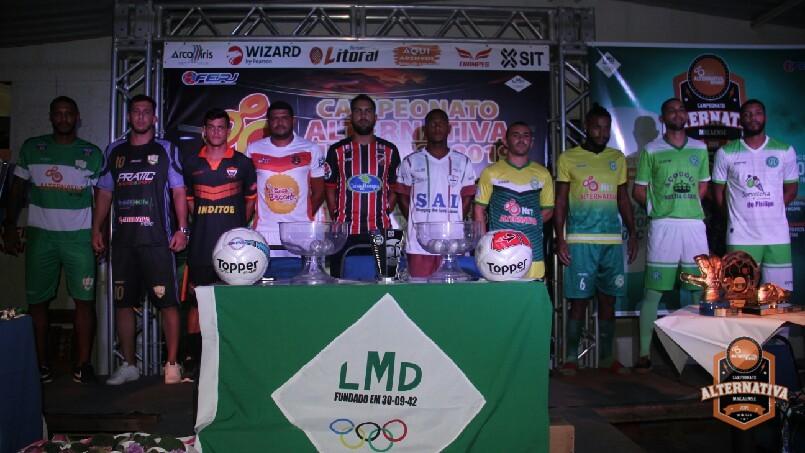 Campeonato ALTERNATIVA Macaense 2019 - Apresentação Uniformes Série A