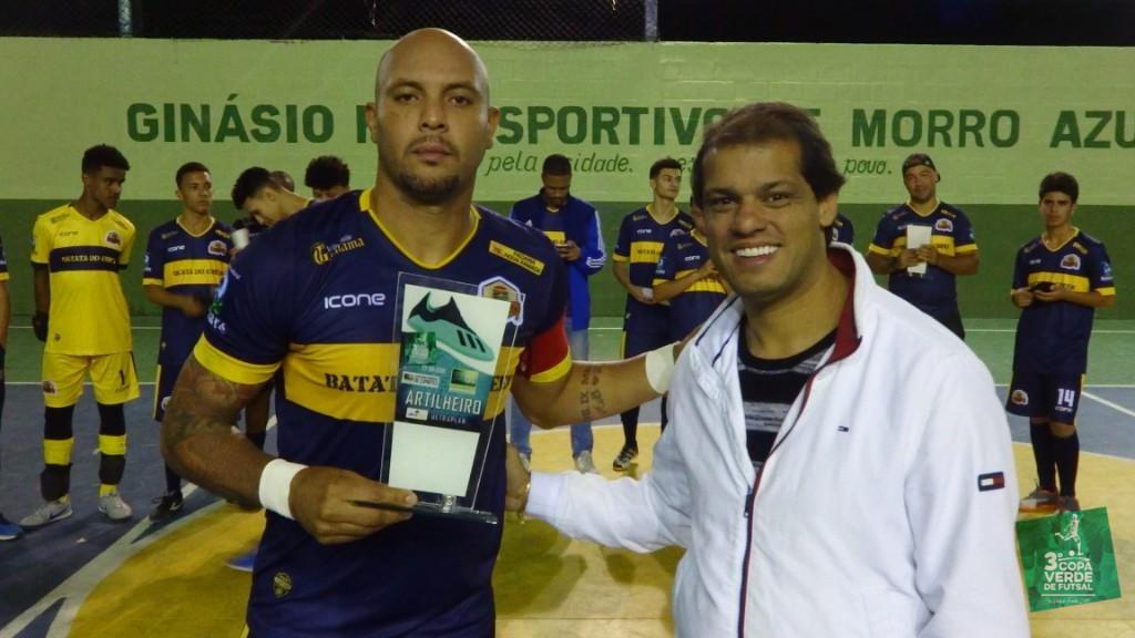 Copa Verde de Futsal 2019 - Artilheiro - Léo Guerreiro (Burger Green - 9 gols)