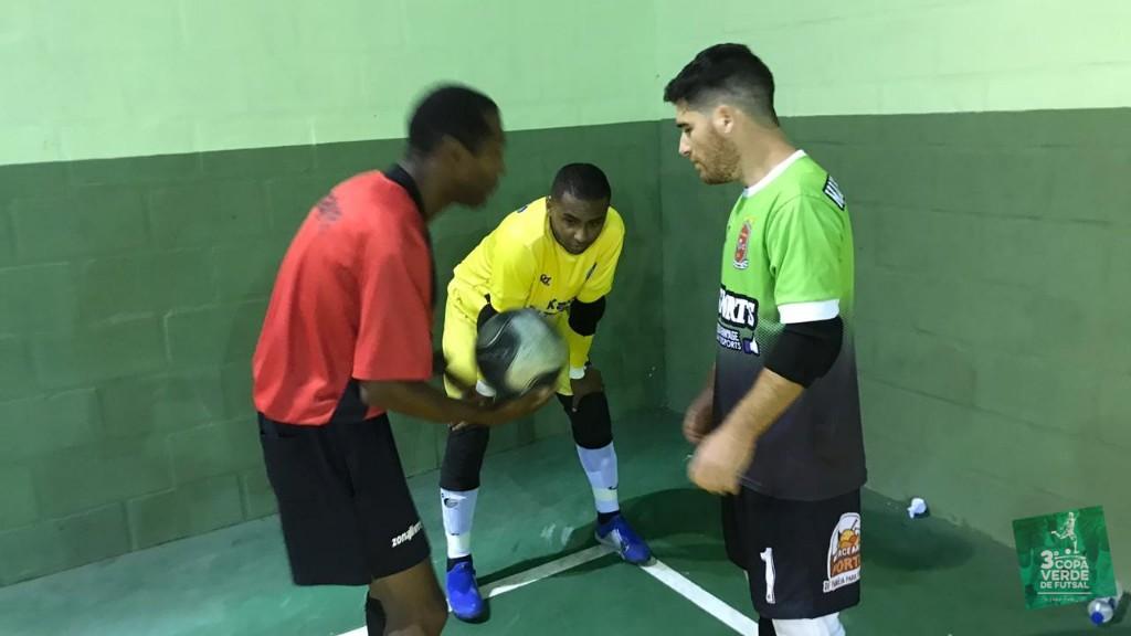 Copa Verde de Futsal 2019 - Momento das cobranças de pênaltis