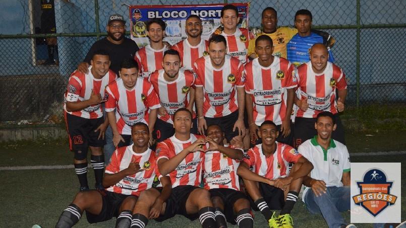 Campeonato Das Regiões Do Bloco Norte - time da vila cruzeiro
