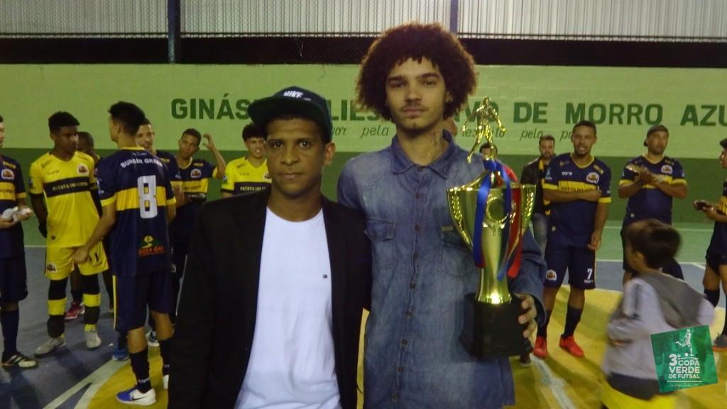 Copa Verde de Futsal 2019 - Vice-campeão - Baile de Munique (presidente: Degê Souza)